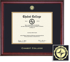 Framing Success Classic Diploma, Double Mat in Rich BurnishedCherry Finish