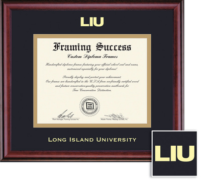 Framing Success Classic Diploma, Double Mat Rich Burnished Cherry Finish