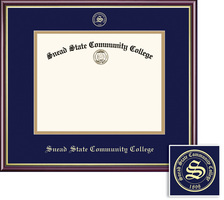 Framing Success Academic Diploma, Double Mat High Gloss Cherry Finish Gold Inner Bevel