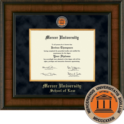 Church Hill Classics Presidential Diploma Frame.  Law (Online Only)