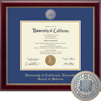 Church Hill Classics Masterpiece Diploma Frame. Medical. (Online Only)