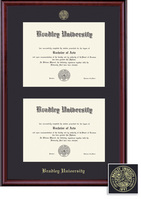Framing Success Classic Diploma, Single Mat in a Rich Burnished Cherry Finish