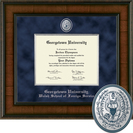 Church Hill Classics Presidential Diploma Frame.  Foreign Service (Online Only)