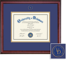 Framing Success Classic Mdl Diploma, Double Mat in a rich burnishedcherry finish