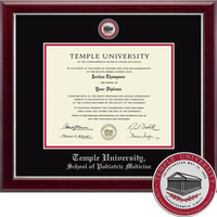 Church Hill Classics Masterpiece Diploma Frame. Podiatric Medicine (Online Only)