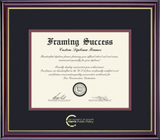 Framing Success Windsor Diploma Frame. Public Policy