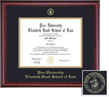 Framing Success Classic Law Diploma, Double Mat in a Rich Burnished Cherry finish