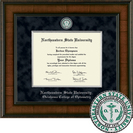 Church Hill Classics Presidential Diploma Frame. Optometry  (Online Only)