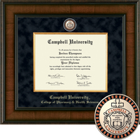 Church Hill Classics Presidential Diploma Frame. Pharmacy and Health Sciences (Online Only)