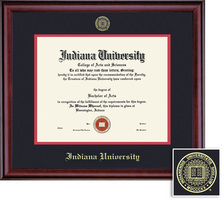 Framing Success BAMA Classic Diploma, Double Mat in a rich burnishedcherry finish