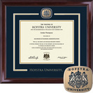 Church Hill Classics Showcase Diploma Frame. Bachelors, Masters, PhD. Available Online Only
