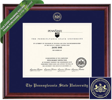 Framing Success Classic Diploma Frame. Bachelors. Masters. PhD