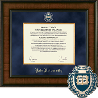 Church Hill Classics Presidential Diploma Frame.  Bachelors, Masters , PhD (Online Only)