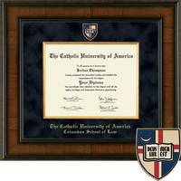 Church Hill Classics Presidential Diploma Frame. Columbus School of Law