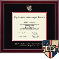 Church Hill Classics Masterpiece Diploma Frame. Columbus School of Law