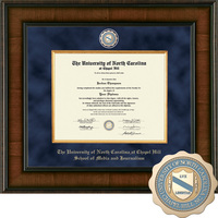 Church Hill Classics Presidential Diploma Frame. School of Media and Journalism (Online Only)