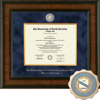 Church Hill Classics Presidential Diploma Frame.  Nursing (Online Only)