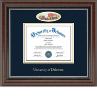 Church Hill Classics Campus Cameo Diploma Frame. Bachelors Masters PhD (Online Only)