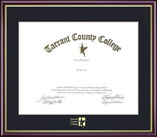 Diploma Frames Tarrant County College Trinity River Campus Bookstore
