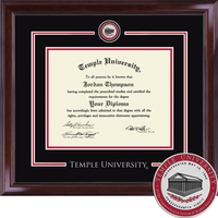 Church Hill Classics Showcase Diploma Frame. Associates, Bachelors, Masters, PhD, Law