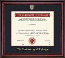 Framing Success Classic Pre 0311 Diploma, Double Mat in richburnished cherry finish