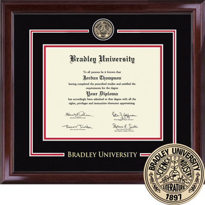Church Hill Diploma Frame Showcase Edition. Bachelors, Masters or Ph.D.