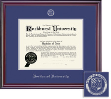 Framing Success Elite (2018pres) Diploma, Dbl Mat in cherry finish with a high gloss coating