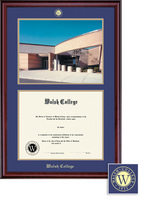 Framing Success Classic MA (2000Pres) DipPhoto, Dbl Mat in rich burnishedcherry finish