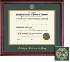 Framing Success Classic BAMA (318Pres) Diploma Frame, Dbl Mat in a rich burnishedcherry finish