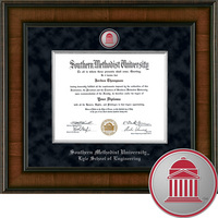 Church Hill Classics Presidential Diploma Frame.  Engineering. Masters, PhD (Online Only)