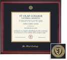 Framing Success Classic (318Pres) Medallion Dip, Double Mat rich burnishedcherry finish