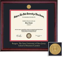 Framing Success Classic Mdl Business Diploma, Dbl Mat in a rich burnishedcherry finish