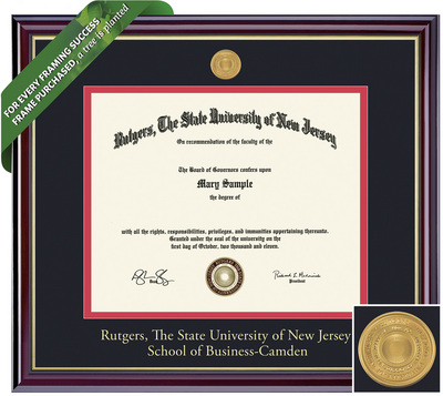 Framing Success Windsor Diploma Frame. Bachelors Business