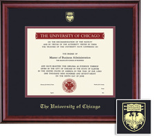 Framing Success Classic (613Pres) Diploma, Dbl Mat in a burnishedcherry finish