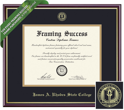 Framing Success Academic Diploma Frame
