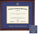 Framing Success Classic (2014Pres) Diploma, double mat in a rich burnishedcherry finish