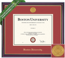 Framing Success Windsor Diploma Frame. Bachelors. Masters. PhD