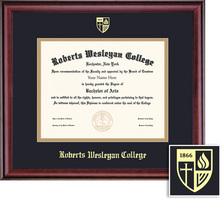 Framing Success Classic (1017Pres) Diploma, double mat in a rich burnishedcherry finish