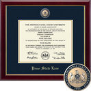 Church Hill Classics Masterpiece Diploma Frame. Penn State Law (Online Only)