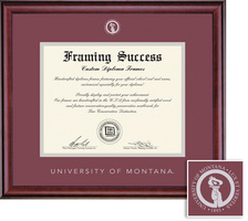 Framing Success Classic BAMAPhD (2018Pres) Diploma, double mat in a rich burnishedcherry finish
