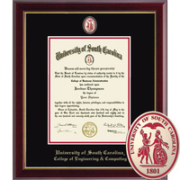 Church Hill Classics Masterpiece Diploma Frame. College of Engineering & Computing  (Online Only)