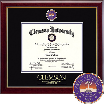 Church Hill Classics Masterpiece Diploma Frame. College of Engineering And Science (Online Only)