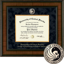 Church Hill Classics Presidential Diploma Frame. Engineering, Comp Sci. Masters, PhD (Online Only)