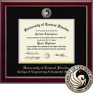 Church Hill Classics Masterpiece Diploma Frame. Engineering, Comp Sci. Masters, PhD (Online Only)