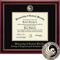 Church Hill Classics Masterpiece Diploma Frame. Engineering Comp Sci. Masters PhD (Online Only)