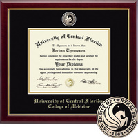 Church Hill Classics Masterpiece Diploma Frame. College of Medicine. Masters PhD (Online Only)