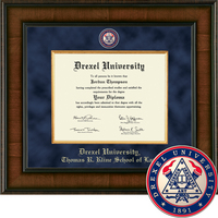 Church Hill Classics Presidential Diploma Frame. Thomas R. Kline School of Law (Online Only)