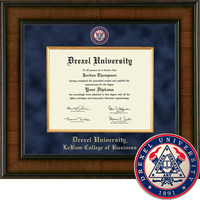 Church Hill Classics Presidential Diploma Frame. LeBow College of Business (Online Only)