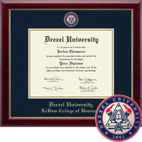 Church Hill Classics Masterpiece Diploma Frame. LeBow College of Business (Online Only)