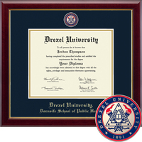 Church Hill Classics Masterpiece Diploma Frame.  Dornsife School of Public Health (Online Only)